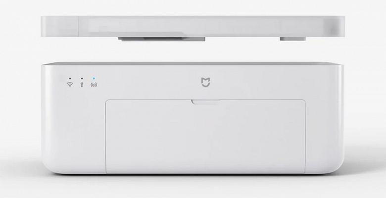 Представлен компактный беспроводной принтер Xiaomi Mijia Photo Printer 1S