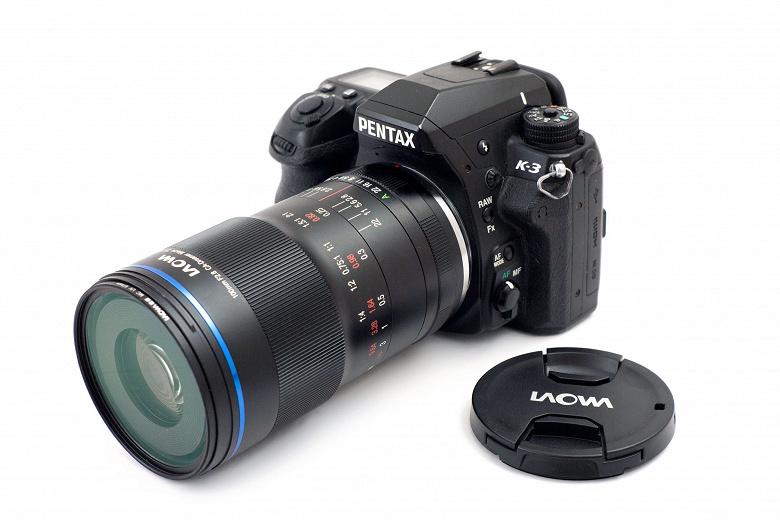 Объектив Laowa 100mm f/2.8 2X Ultra Macro APO стал доступен в варианте с креплением Pentax K