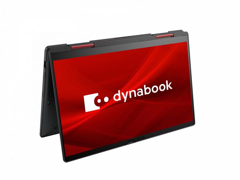 Килограммовый ноутбук-трансформер на лучших мобильных процессорах Intel. Представлен Dynabook V6/V8
