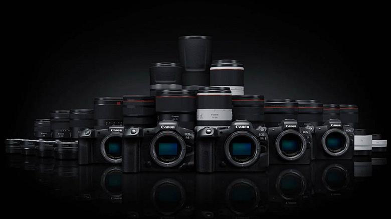 Появился план выпуска объективов Canon RF на будущий год