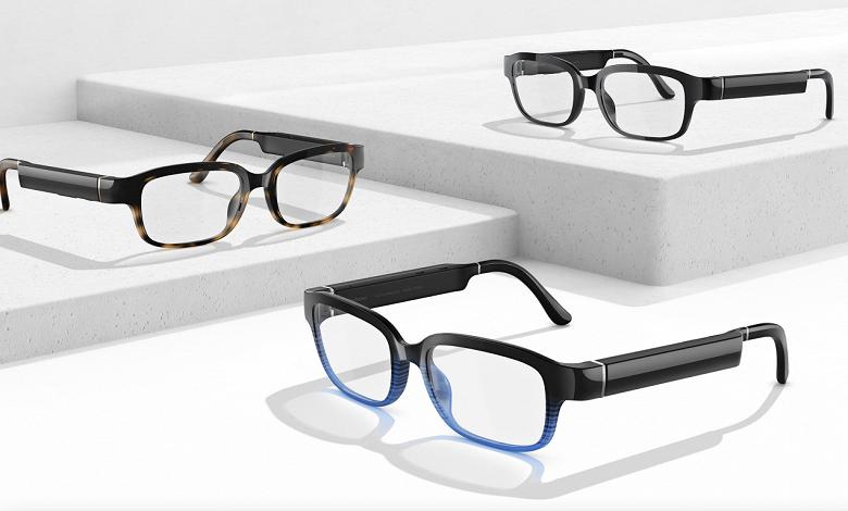 Представлены стильные умные очки Amazon Echo Frames