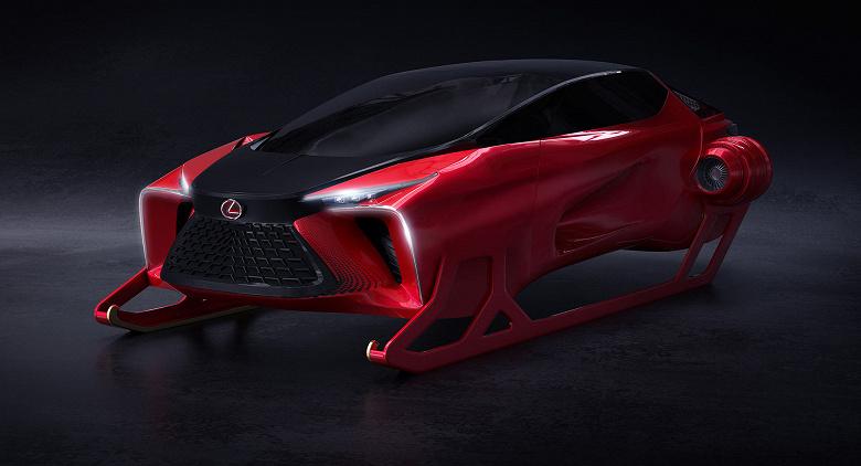 Такой Lexus мы еще не видели. Компания представила ультрасовременные сани Санта-Клауса с реактивными двигателями