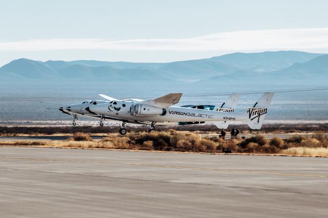Испытание космического корабля Virgin Galactic SpaceShipTwo не удалось