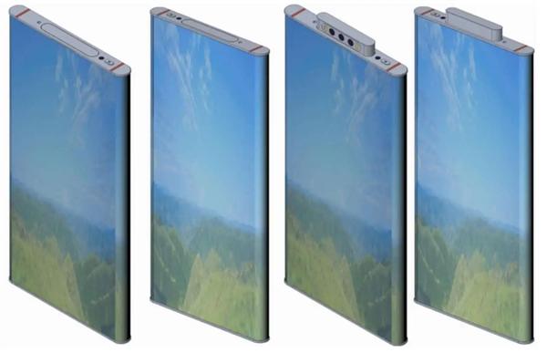 Потенциальный Xiaomi Mi Mix Alpha 2.0. С экраном на 360° и выдвижной тройной камерой