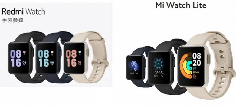 Дьявол кроется в мелочах. Чем отличаются умные часы-близнецы Mi Watch Lite и Redmi Watch?