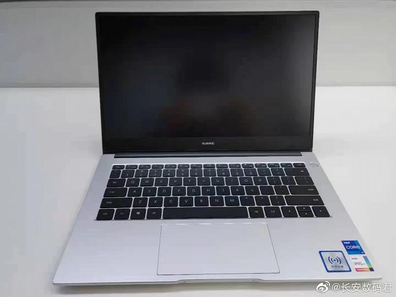 С процессорами Intel Tiger Lake и графикой Nvidia MX450. Ноутбук Huawei MateBook D нового поколения позирует на живых фото