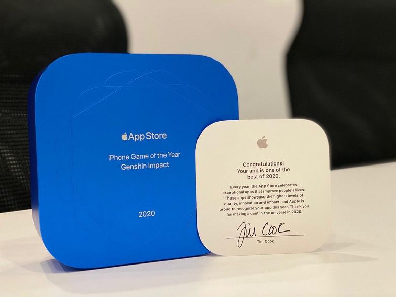 Создатели лучших приложение App Store 2020 года впервые получили физические награды