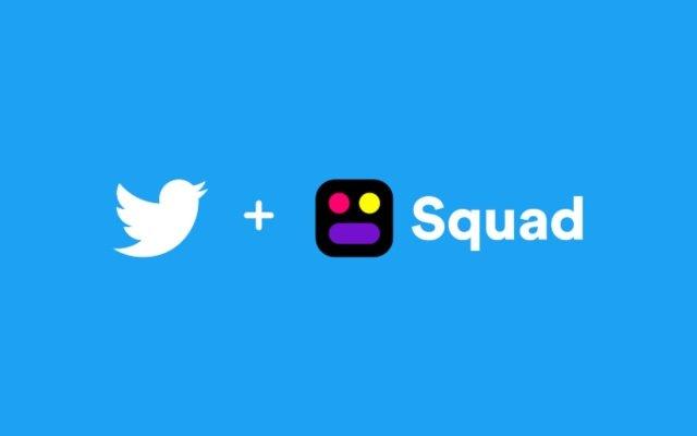 Twitter приобретает молодую компанию Squad, разрабатывающую ПО для совместного использования экрана и видеочата