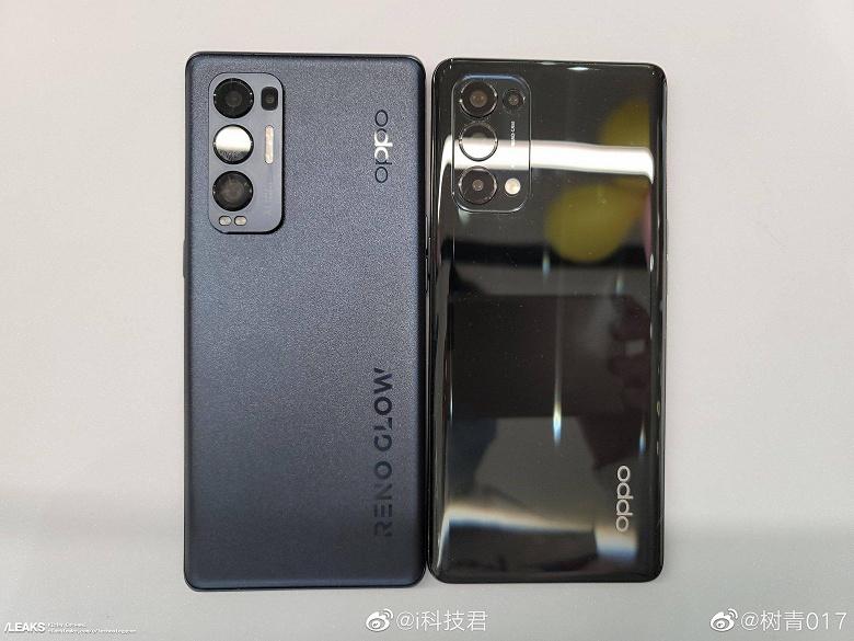 Первое живое фото камерофона Oppo Reno5 Pro+