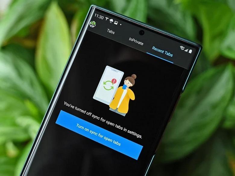 Браузер Microsoft научился синхронизировать вкладки и историю между Android и Windows