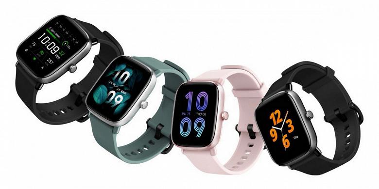 Производитель Xiaomi Mi Band представил умные часы Amazfit GTS 2 mini
