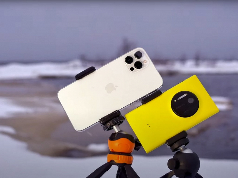 Флагман 2013 года против флагмана 2020 года – чья камера лучше? Сравнили Nokia Lumia 1020 и iPhone 12 Pro Max