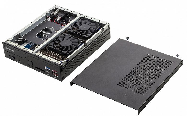 В конфигурацию Shuttle XPC Barebone DH470 можно включить процессор Intel Core 10-го поколения с TDP до 65 Вт