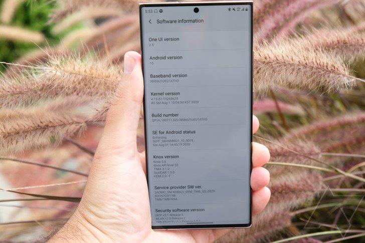 Приятный сюрприз для международных Samsung Galaxy Note20. Большое обновление на Android 11 началось с опережением планов