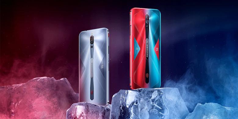 144 Гц, активное охлаждение и кнопки-триггеры. ZTE выпустила игровой смартфон Red Magic 5S в России