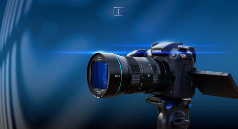 Анонсирован выпуск анаморфотного объектива Sirui 24mm F2.8