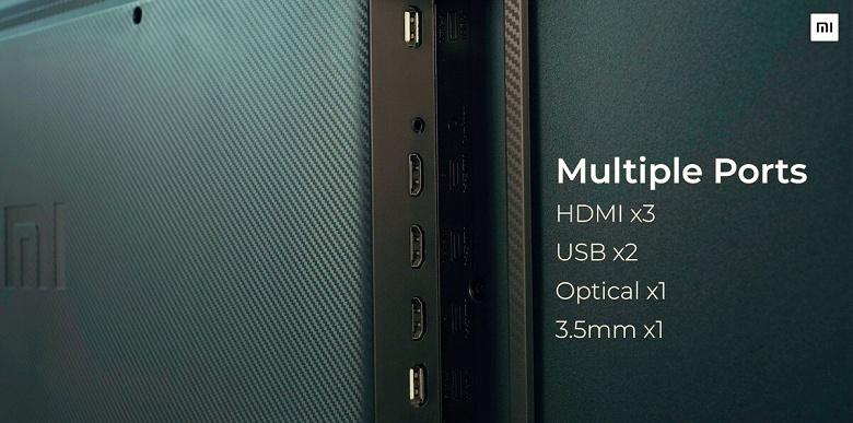 Xiaomi представила 55-дюймовый QLED-телевизор