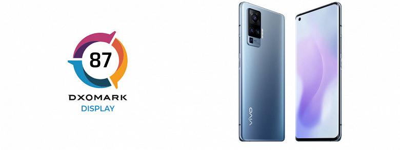 Впечатляющий дисплей как у iPhone 12 Pro и Samsung Galaxy S20 Ultra 5G. Vivo X51 разделил третье место в рейтинге DxOMark с этими смартфонами