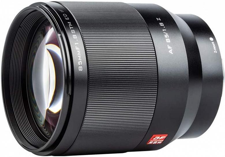Представлен объектив Viltrox 85mm f/1.8 Z