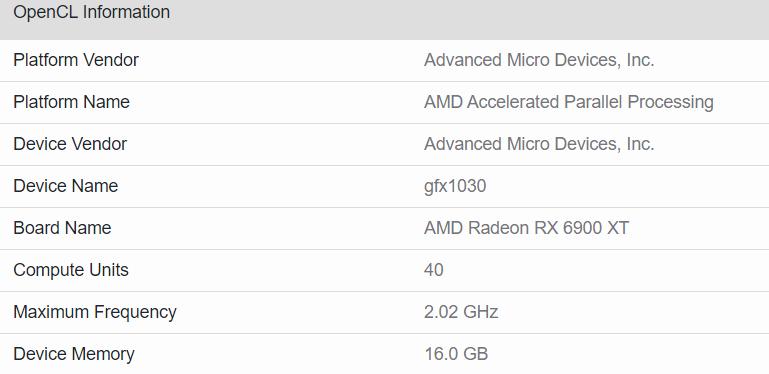 Radeon RX 6900 XT уступила в тесте OpenCL не только GeForce RTX 3090, но и GeForce RTX 3080