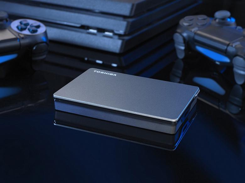 Внешние HDD Toshiba Canvio Gaming «специально адаптированы для игр»