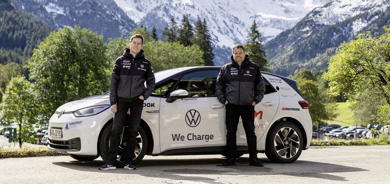 Электромобиль Volkswagen ID.3 установил мировой рекорд: 28198 км за два месяца
