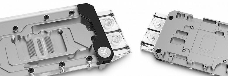 Водоблоки EK-Quantum Vector FE RTX 3070 предназначены для видеокарт Nvidia GeForce RTX 3070 Founders Edition