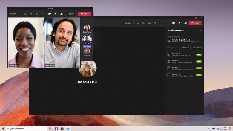 Долгожданное обновление Microsoft Teams, плюс новогодние сцены и фоны. Переговорные комнаты стали доступны для всех