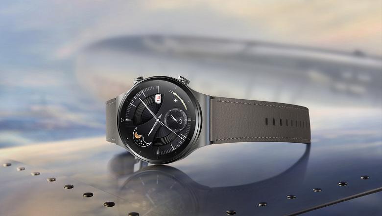 Часы Huawei Watch GT 2 Pro научились «выплёвывать» воду из динамика