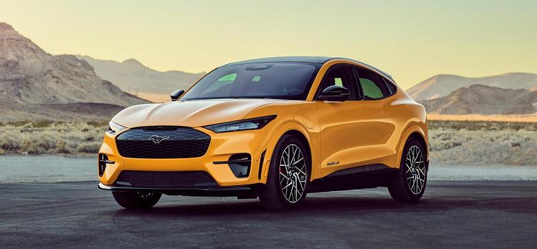 Модернизированный Ford Mustang Mach-E разгоняется до 100 км/ч за 3,5 с
