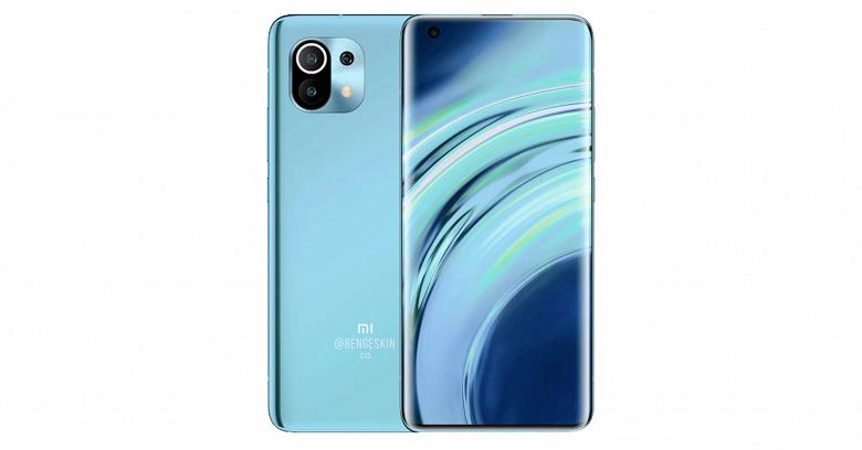Xiaomi Mi 11 останется без экрана-водопада и центральной врезанной камеры