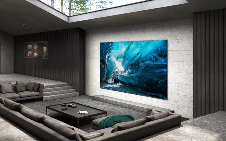 110 дюймов и полное отсутствие рамки. Samsung представила гигантский (и явно очень дорогой) телевизор 4K MicroLED TV