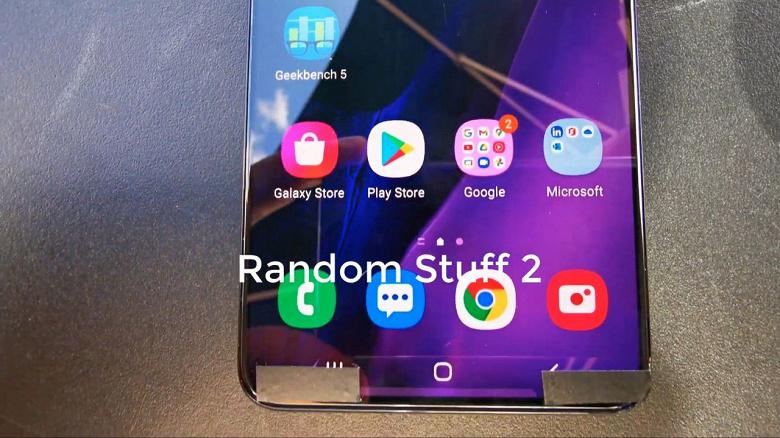 Первый живой ролик с рабочим Samsung Galaxy S21+ появился в сети за месяц до анонса