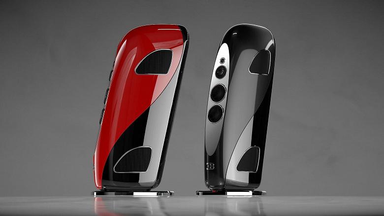 Bugatti представила роскошные 160-килограммовые колонки для дома