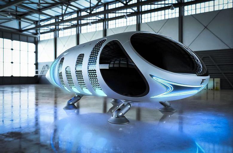 Аэромобиль из Воронежа без крыльев и видимых винтов: разработку прозвали «летающим батоном»