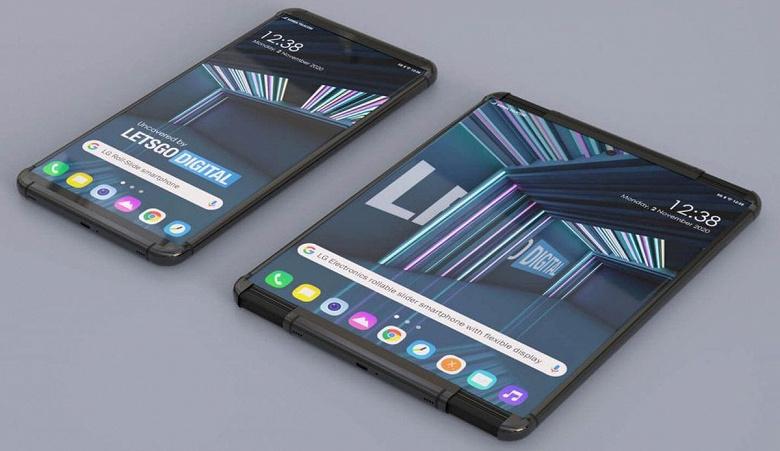 По-настоящему новый тип смартфона, но очень дорого. LGRollable готовится к выходу в следующем году