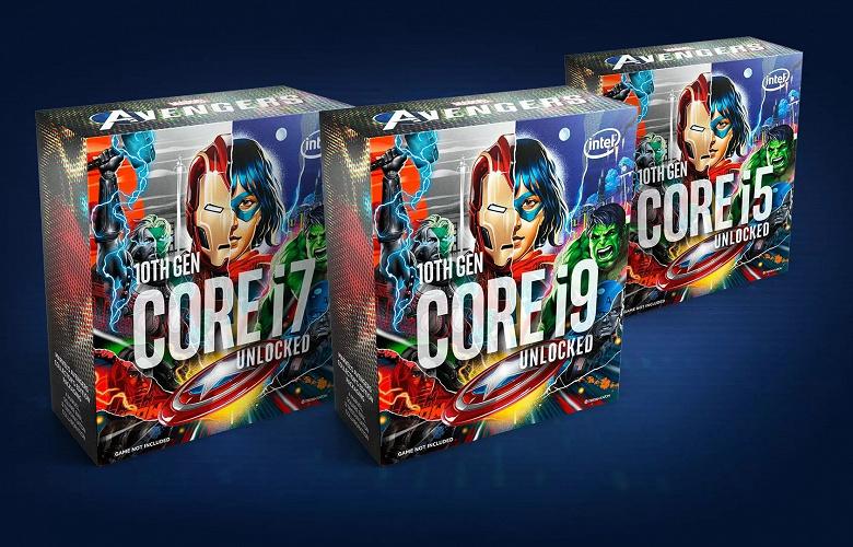Процессоры Intel для фанатов «Мстителей» уходят на покой спустя всего полгода после анонса
