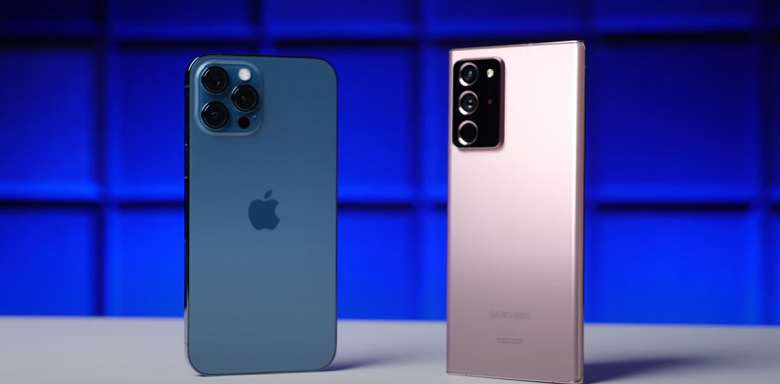 Так кто же автономнее: iPhone12ProMax или SamsungGalaxyNote20Ultra?