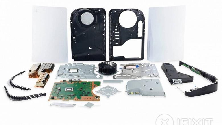 Игровую приставку Sony PlayStation 5 и DualSense разобрали по винтику