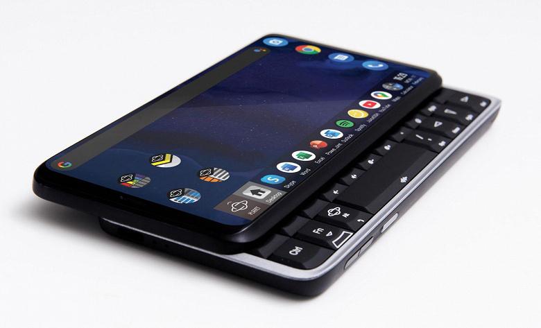Смартфон Planet Computers Astro Slide, поддерживающий 5G, оснащен клавиатурой