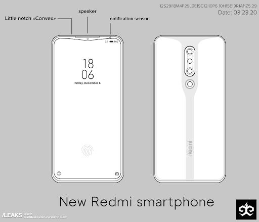 Новый телефон Redmi получил свежий дизайн и нестандартную рамку