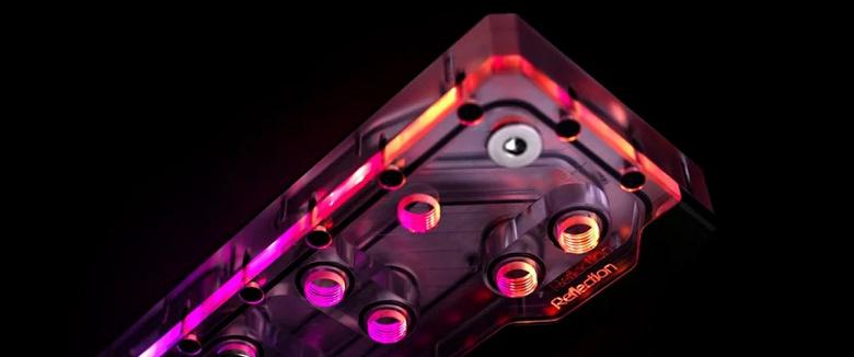 Агрегат EK-Quantum Reflection Evolv X D5 PWM D-RGB предназначен для СЖО компьютеров в корпусах Phanteks Evolv X и Phanteks P600S