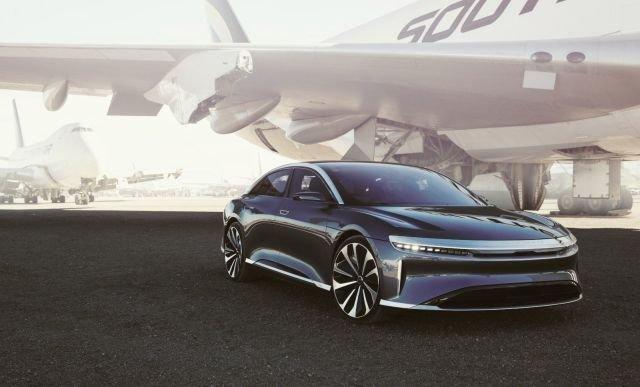 Серийный электромобиль Lucid Air не будет представлен в намеченный срок
