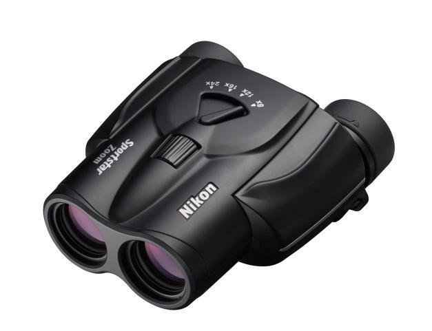 Nikon выпустила компактный бинокль с зумом 8-24х