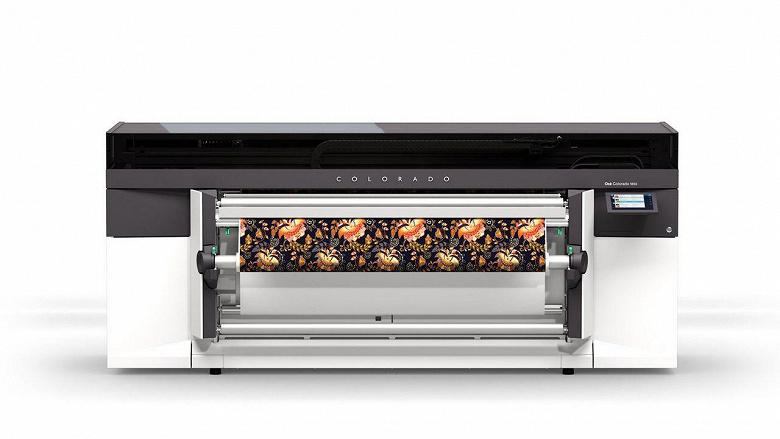 В России установлен первый 64-дюймовый принтер Canon Colorado 1650