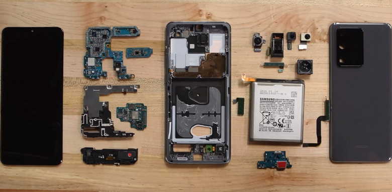Лучше не ломайте Samsung Galaxy S20+ — его крайне сложно отремонтировать