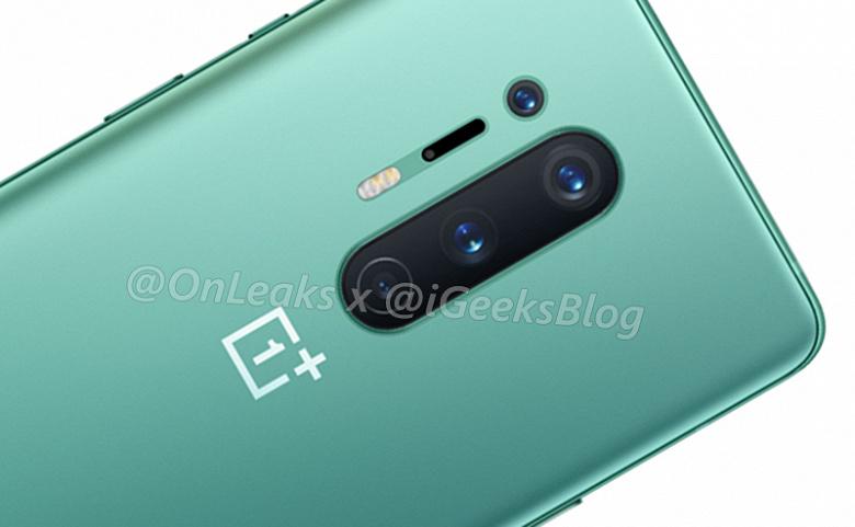 OnePlus 8 Pro позирует на первом официальном изображении. Новый фирменный цвет — зелёный