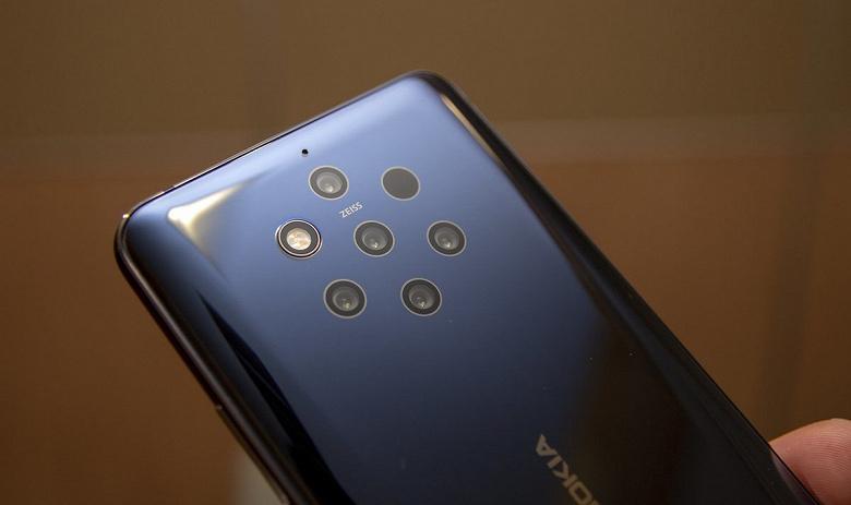 Новый флагман Nokia будет брать количеством камер и мегапикселей