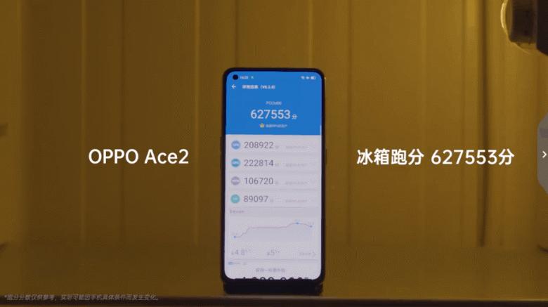 Неожиданный рекорд. Oppo Ace 2 продемонстрировал удивительную производительность