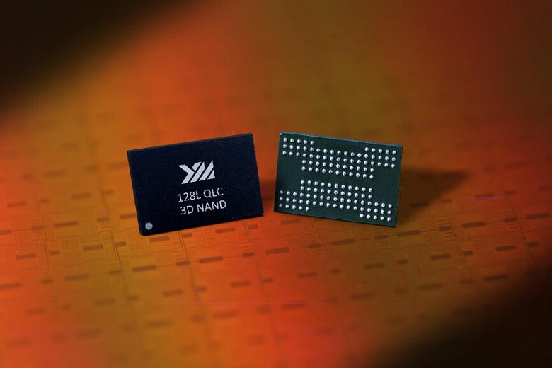 YMTC приступает к выпуску 128-слойной флеш-памяти 3D NAND